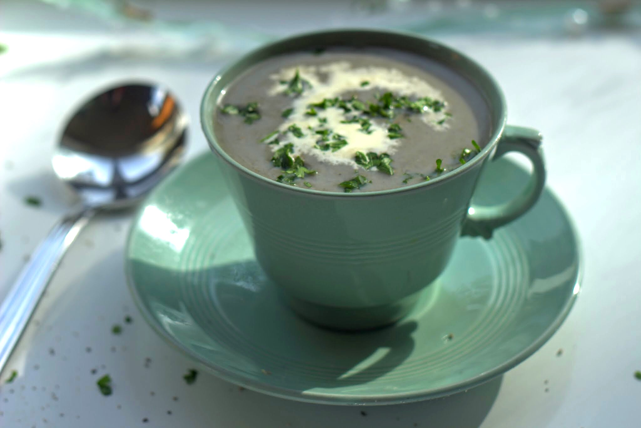 Cream of Wild Mushroom Soup | Kenmare Foodie