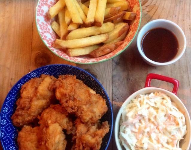 Southern Fried (Butter Milk) Chicken.