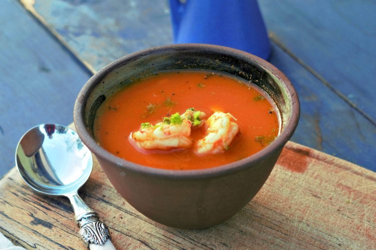Prawn and Fennel Soup